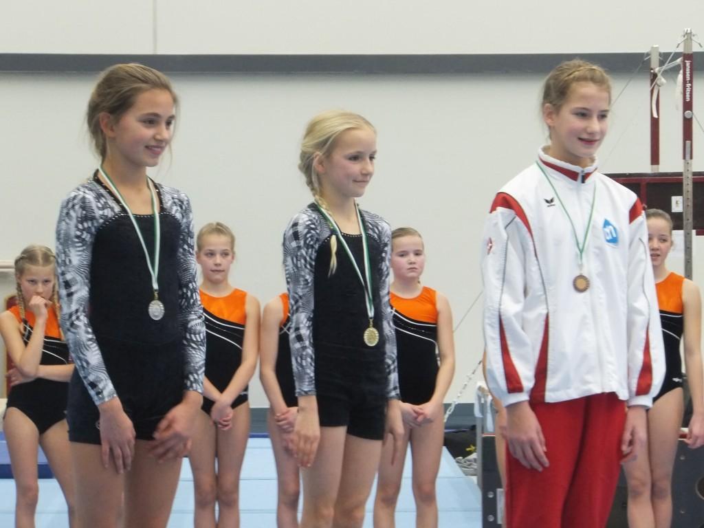 1e plaatsingswedstrijd 6e divisie, jeugd 1 11-1-2015 foto Elsa derde plaats