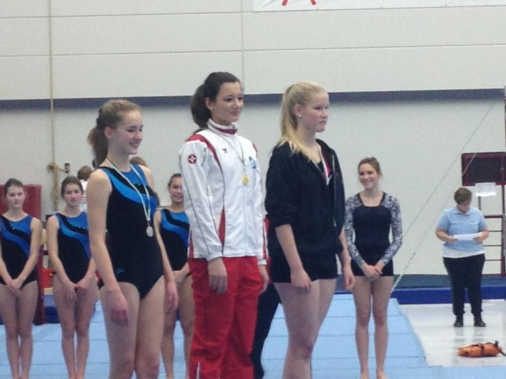 1plaatsingswedstrijd 6e divisie senior gouden mediaille Anky van der Weijden