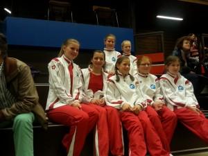 dames derde wedstrijd districtsfinale 11 april 2015